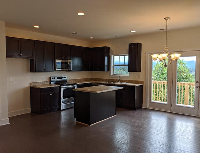 Open Kitchen Floorplan