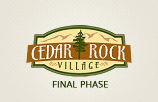 Cedar Rock Village Final Phase