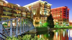 Downtown Greensville, South Carolina