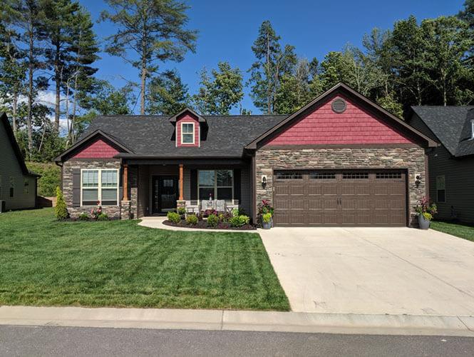 Montclair Floor plan - new homes in Asheville