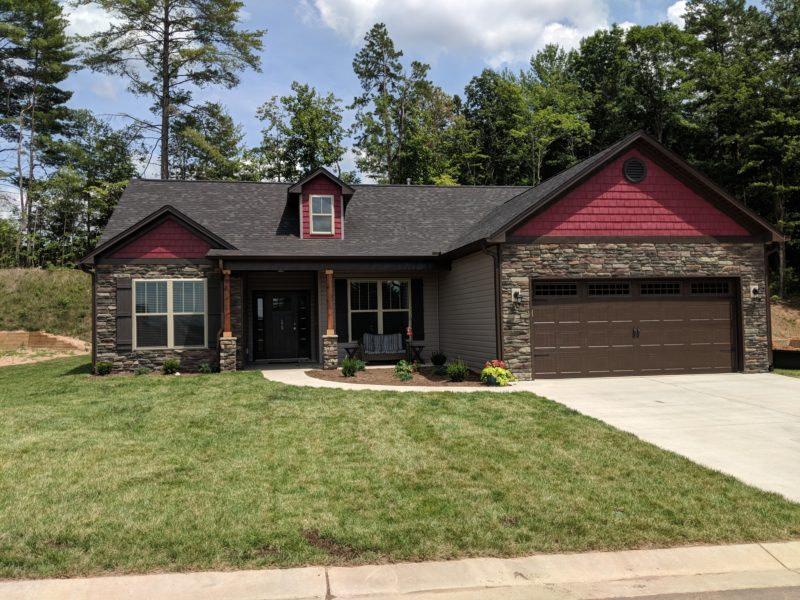 Lot 42 Montclair 1512sf, Weaverville New Home