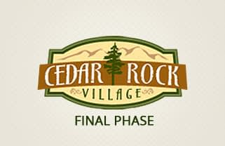 Cedar Rock Village Final Phase